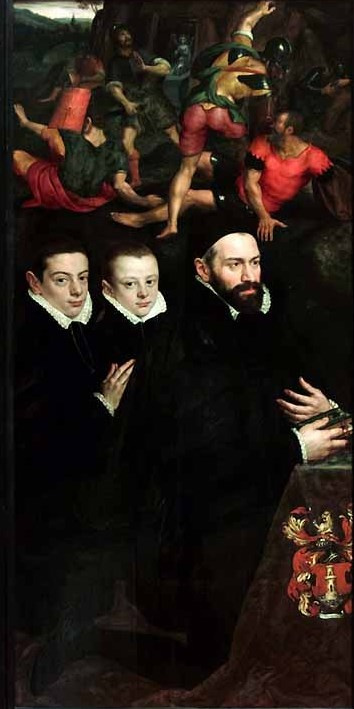 Adrian Thomas Kay. Antonio del Rio and his two sons