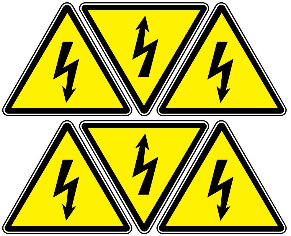 """Arthur Gabdrupes. """"Image"""": """"Sign""""; Caution """"Danger"""" - """"Energized"""", """"Electricity"""" (d3)"""