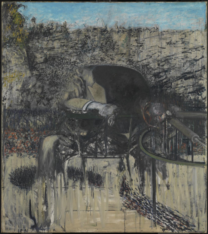 Francis Bacon. The figure in the landscape