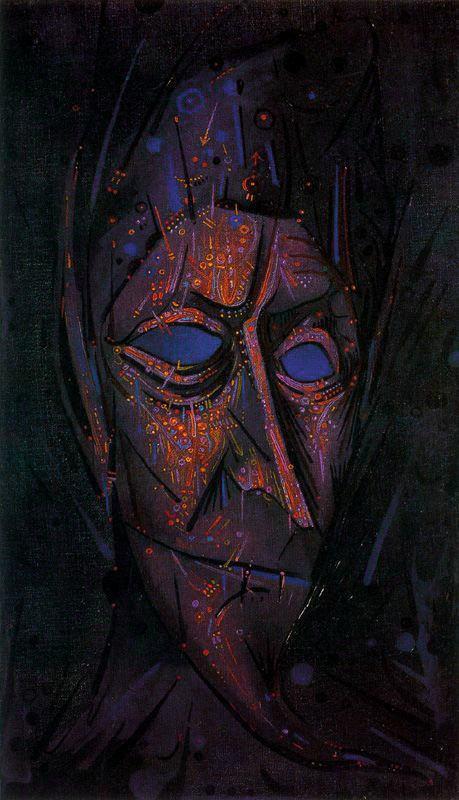 Джоан Понк. Синие глаза