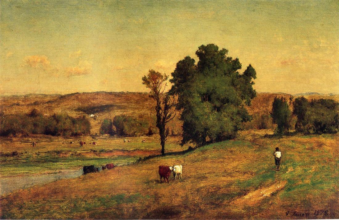 Джордж Иннесс. Пейзаж с рисом