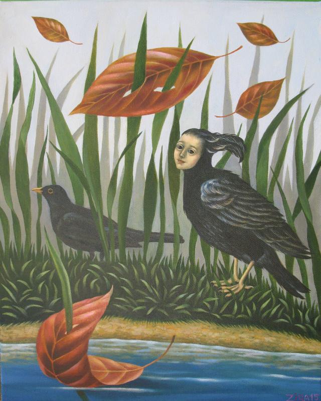 Ira Zaitseva. The painted bird