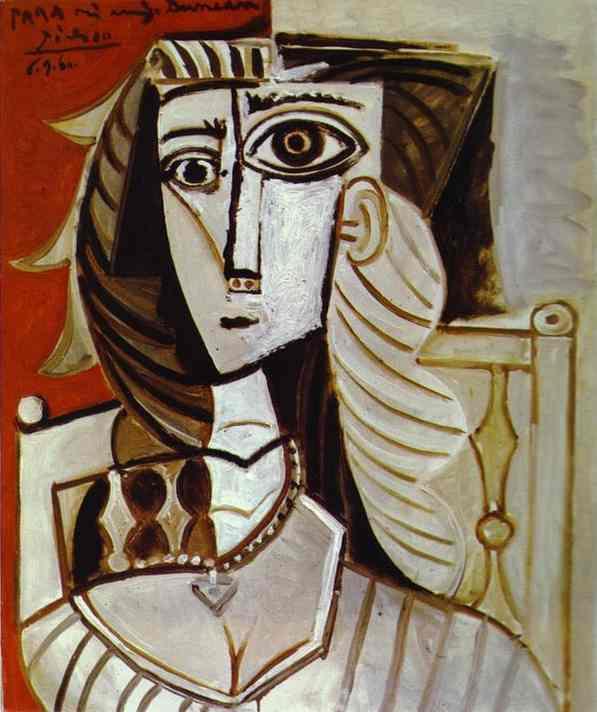 Пабло Пикассо. Жаклин