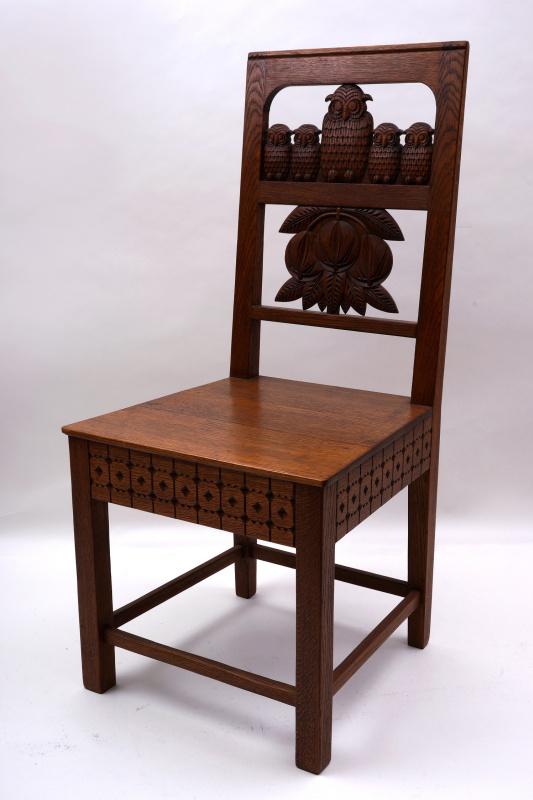 """Elena Dmitrievna Polenova. Chair """"Owls"""""""
