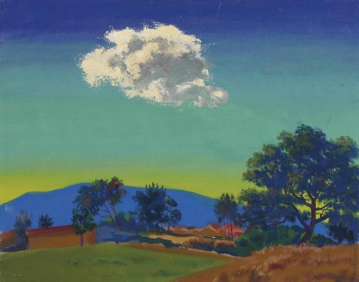 Vasily Ivanovich Shukhaev. Cloud. 1961