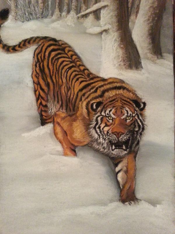 Anna Ruts. Тигр