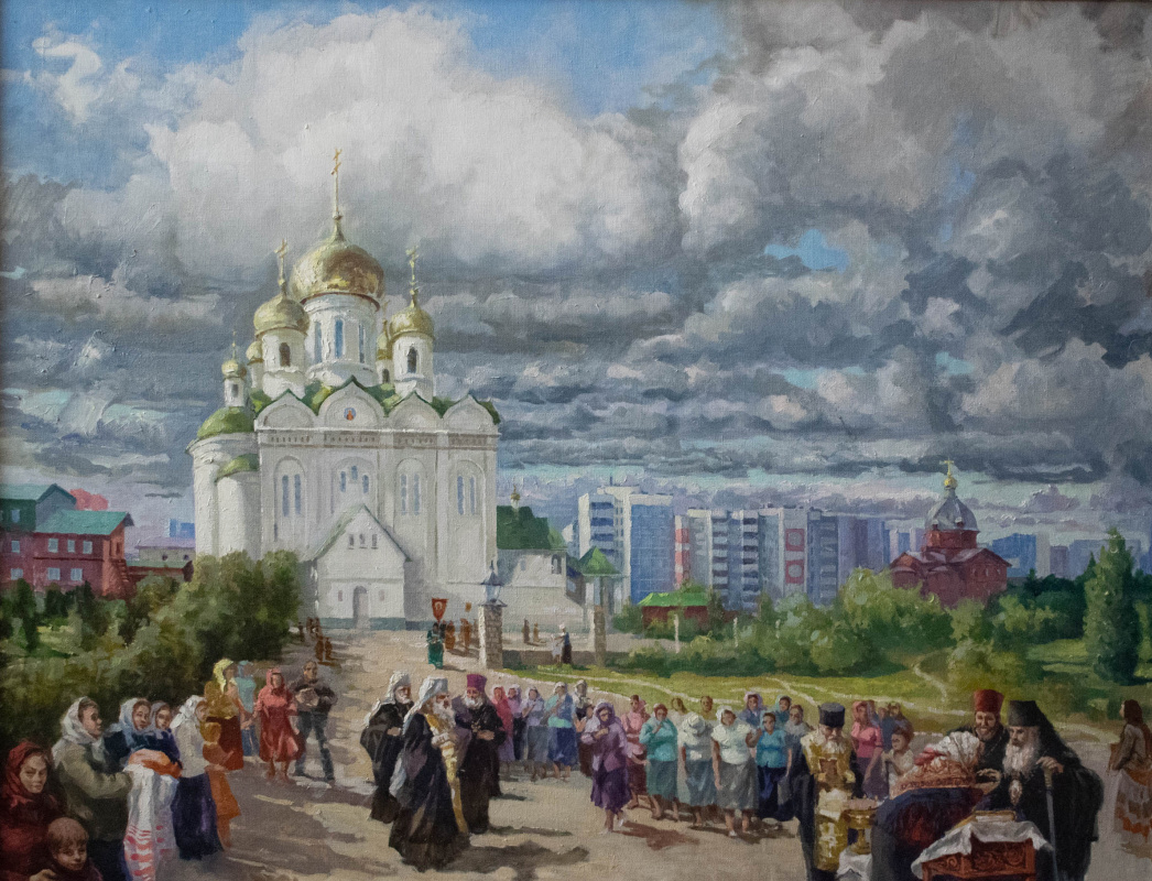 Alexey Alekseevich Drilev. Cathedral of St. John the Divine
