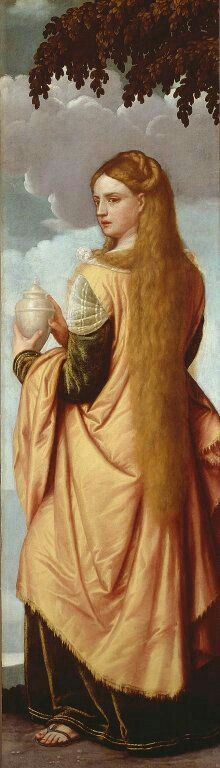 Моретто да Брешиа. Портрет молодой женщины, Марии Магдалины