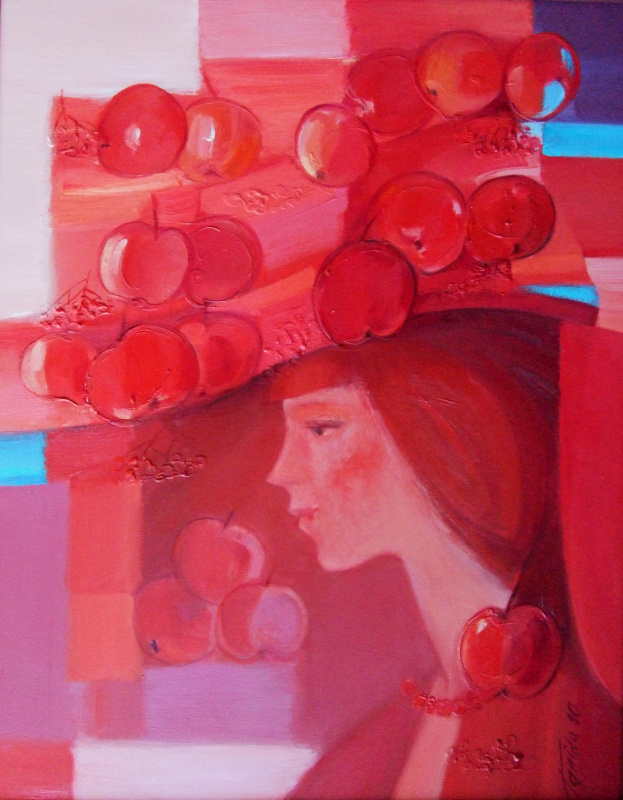"Galina Nikolaevna Kononova. ""Fertility"" of the triptych ""Garden of Eden"""