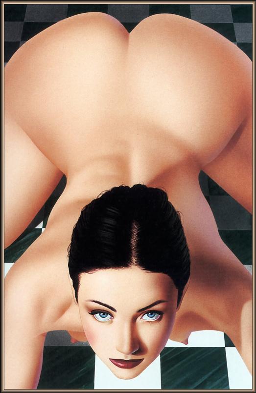 Юбер де Лартиг. Эротический сюжет 54