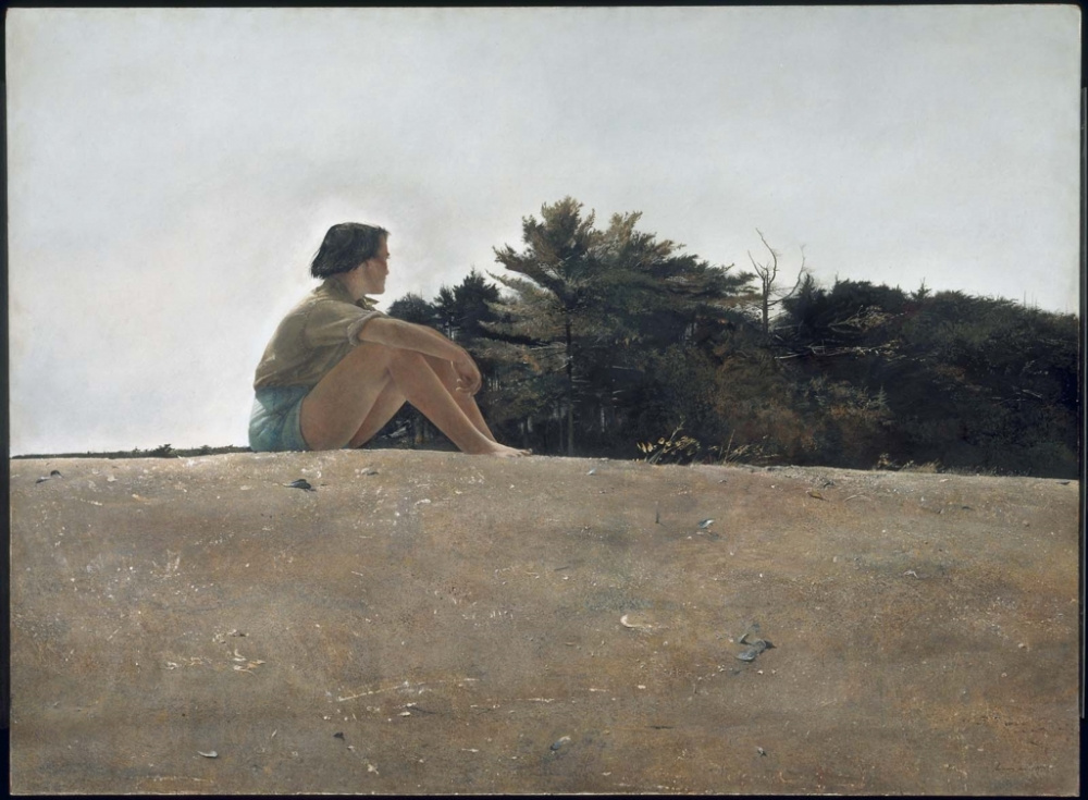 Andrew Wyeth. Sandy spit