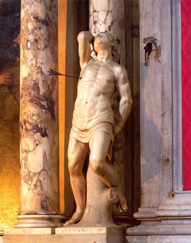 Алессандро Виттория. Святой Себастьян