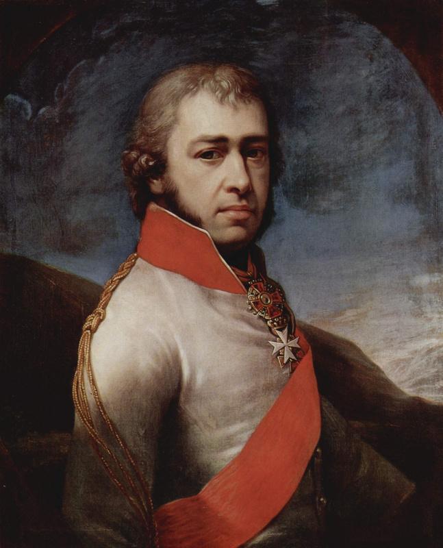 Иоганн Баптист Лампи (старший). Портрет князя Бориса Голицына