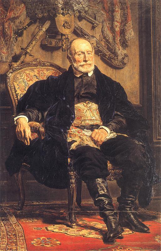 Ян Матейко. Портрет Петра Мошинского