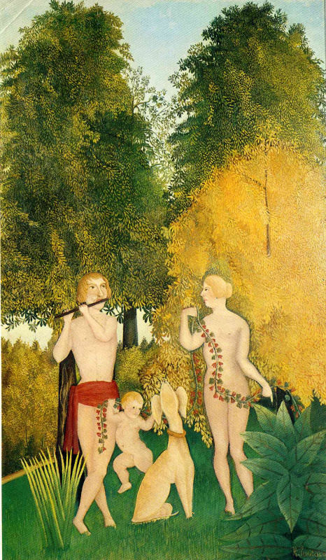 Henri Rousseau. Happy Quartet
