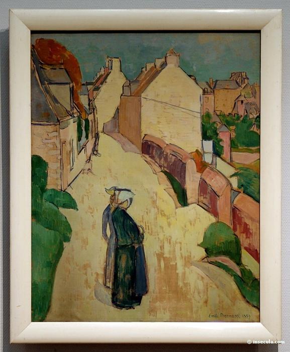 Emil Bernard. Women