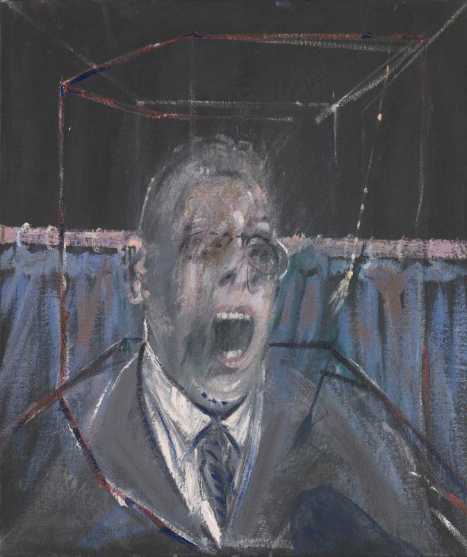 Фрэнсис Бэкон. Эскиз портрета