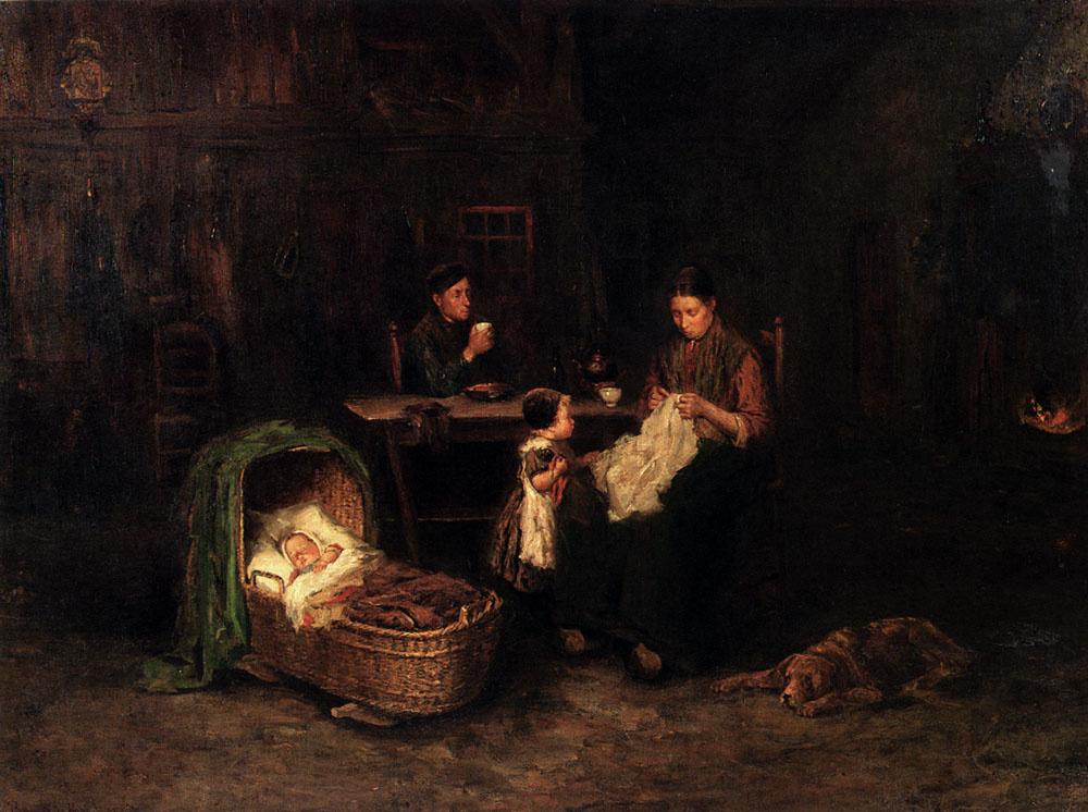 Bernard de Hug. Family night