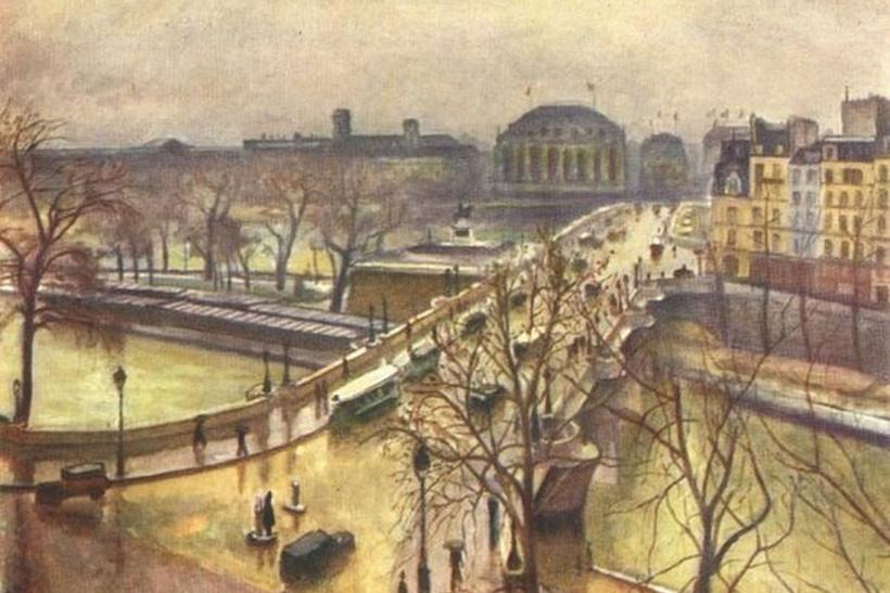 Albert Marquet. A new bridge in the rain