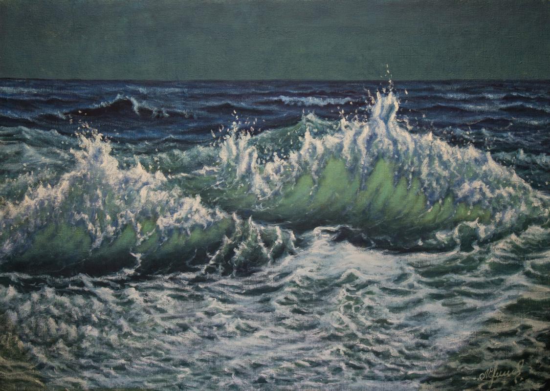 Valery Levchenko. No. 492 Seascape.