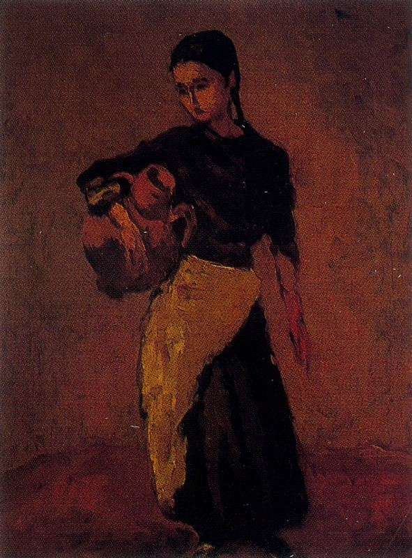 Arturo Souto. Girl with amphora