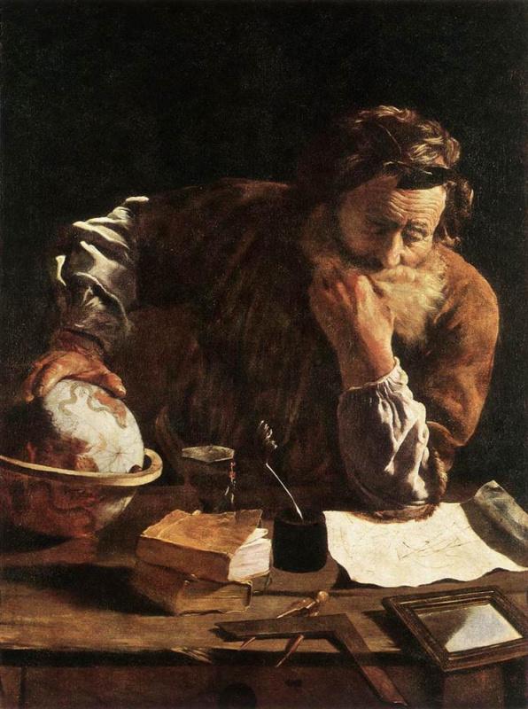 Доменико Фетти. Портрет ученого