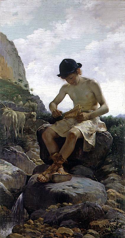 Хуан Белда Моралес. Пастух