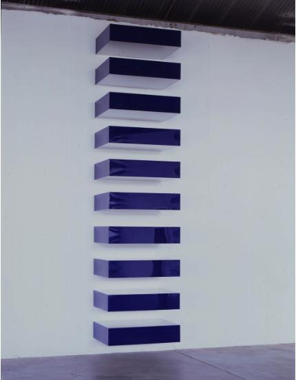 Donald Judd. Untitled