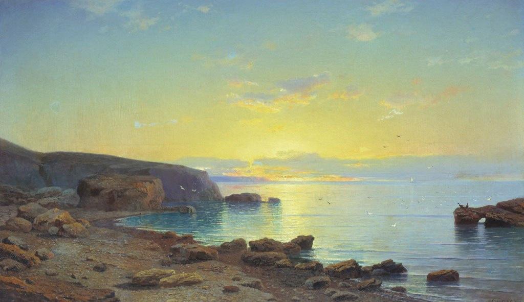 Rufin Gavriilovich Sudkovsky. Sea view