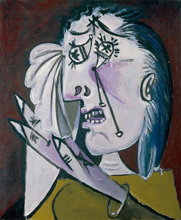 Пабло Пикассо. Плачущая женщина 2