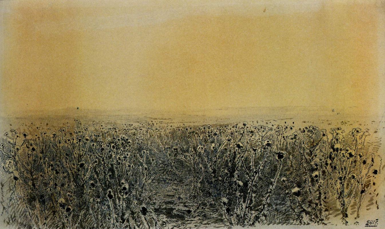 Ivan Shishkin. Thistle