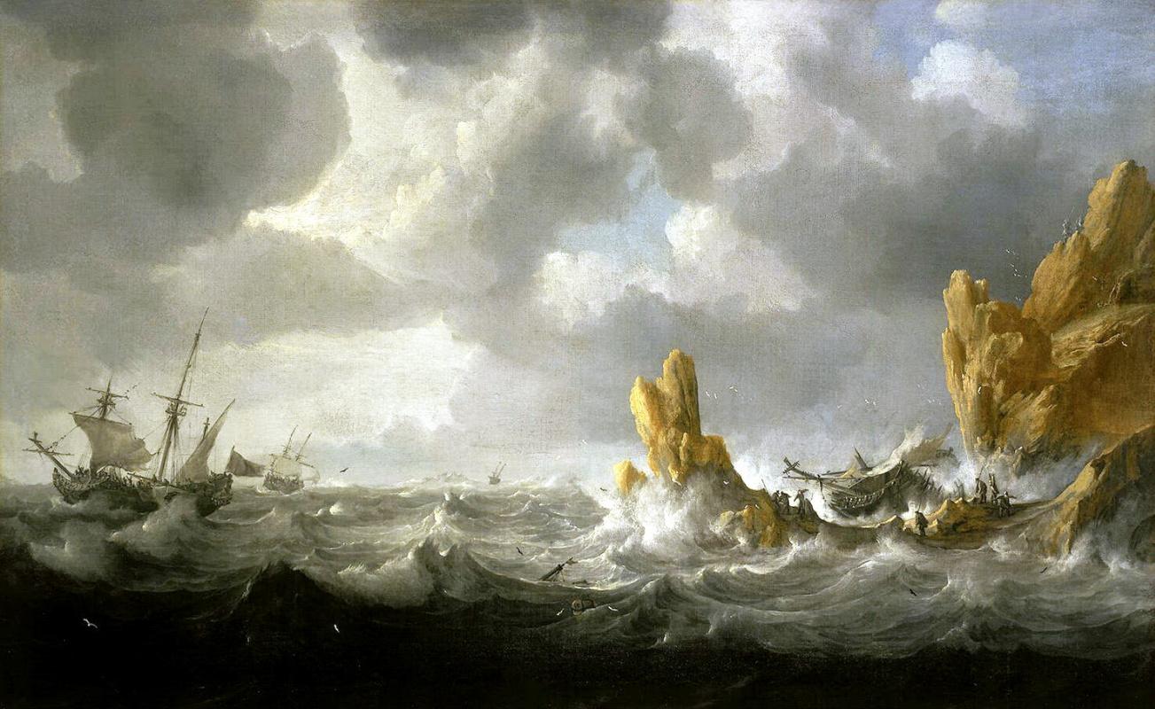 Ян Петерс. Бурное море