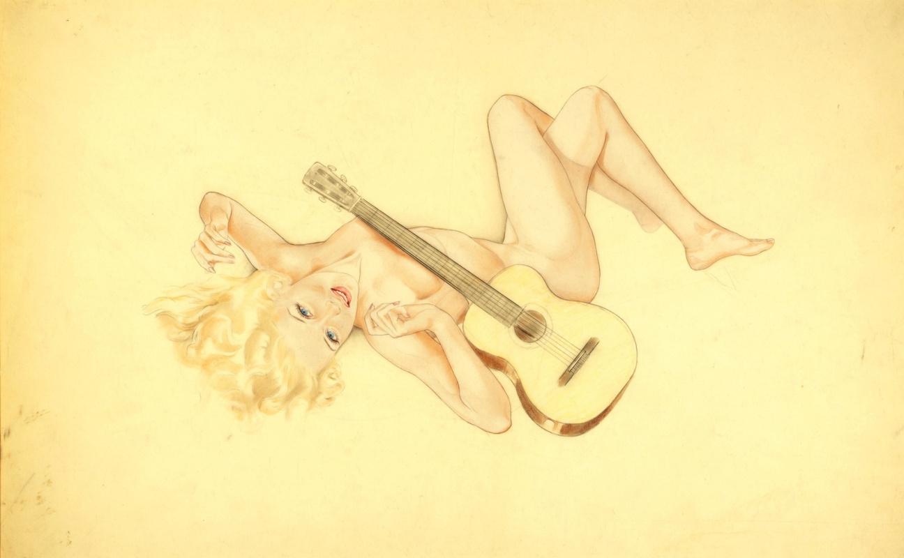 Альберто Варгас. Песня для гитары.