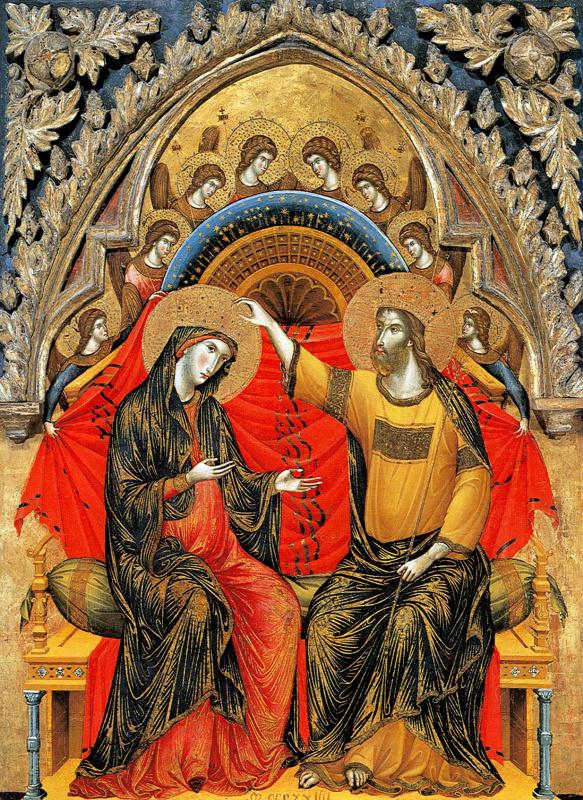 Паоло Венециано. Коронование Девы Марии