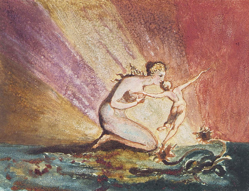 William Blake. The first book Urizen. Visions of the daughters of Albion II
