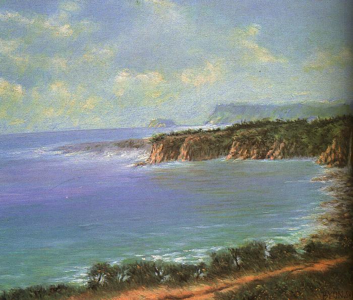 Bune Shi Ji. Sea landscape