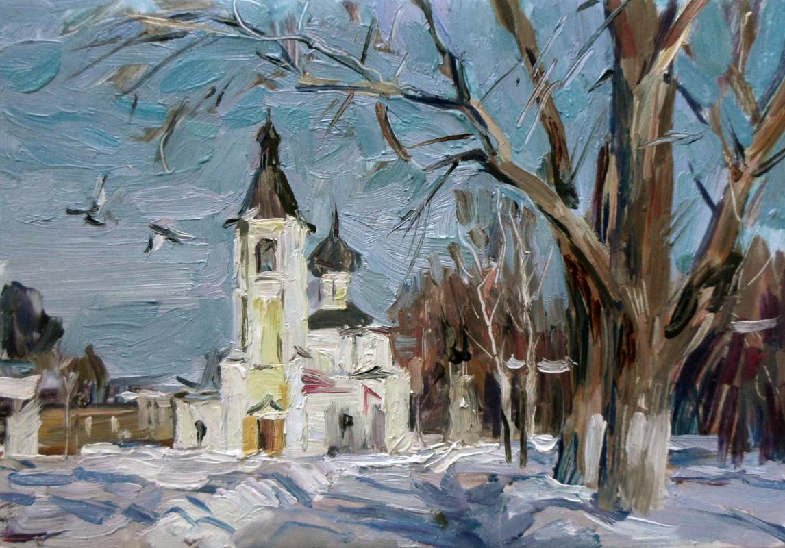 Boris Anatolevich Studentzov. Vologda. The Church Of The Intercession.