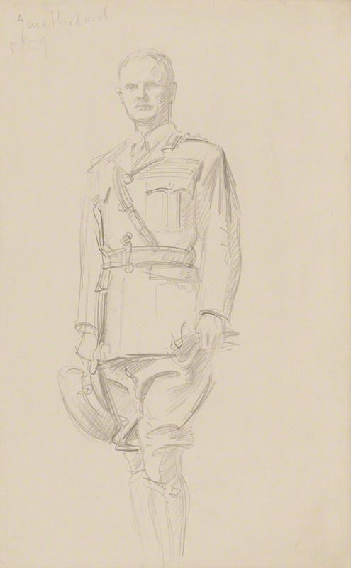 John Singer Sargent. Riddell William Birdwood, 1st Baron Birdwood