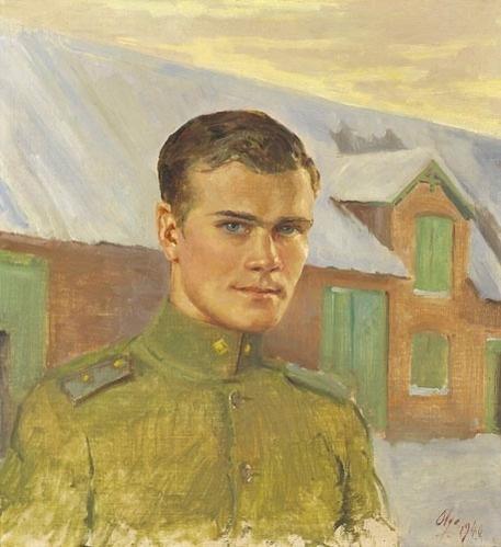 Ольга Александровна Романова. Портрет сына Тихона