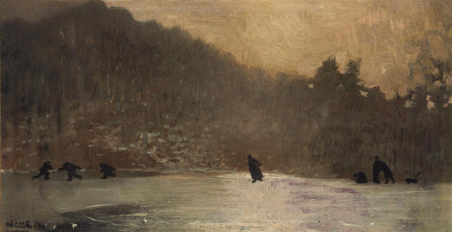Winslow Homer. Skating