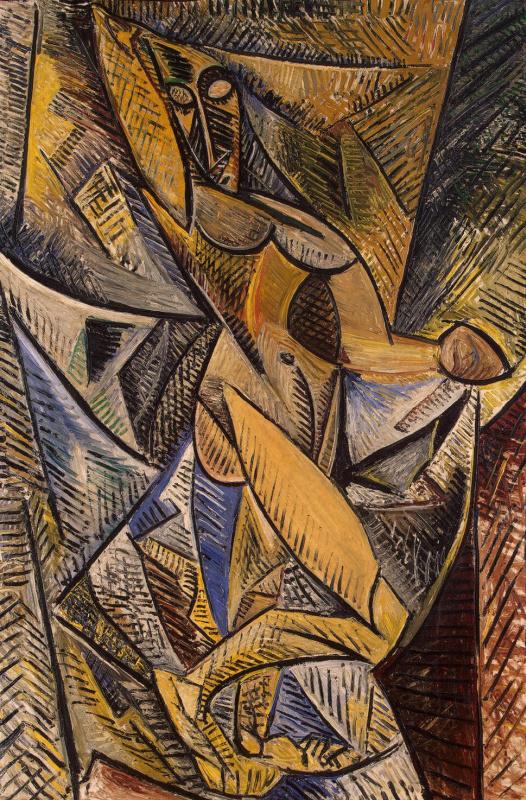 Пабло Пикассо. Танец с покрывалами