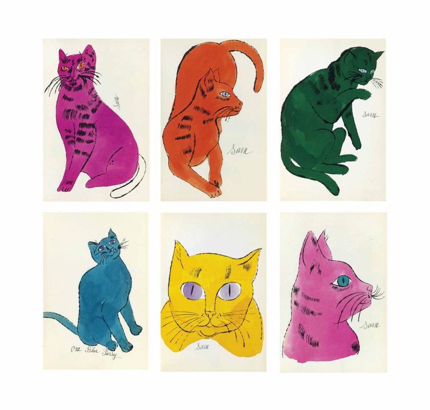 Энди Уорхол. 25 котов по имени Сэм и одна голубая кошечка