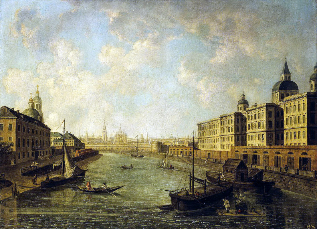 Fedor Yakovlevich Alekseev. View Of Moscow