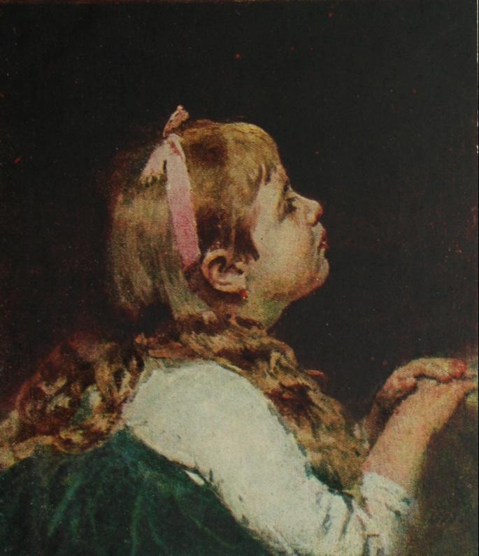 Ilya Efimovich Repin. Head girl. National Art Museum, Riga