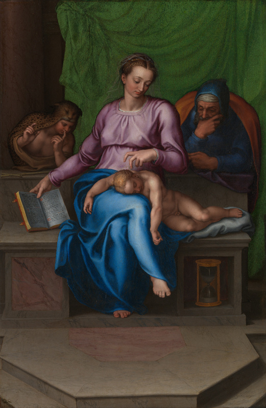 Марчелло Венусти. Святое семейство (Безмолвие)