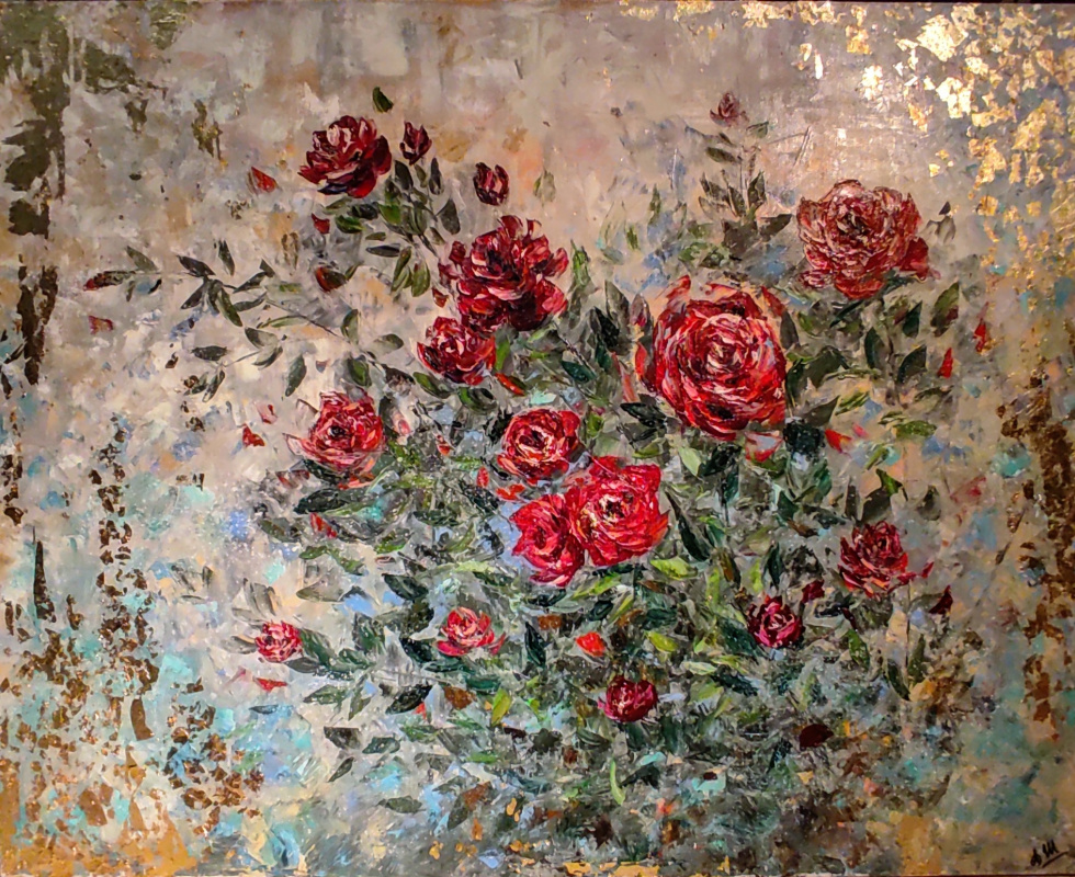 Alina Evgenievna Shvaryova. Rose bush