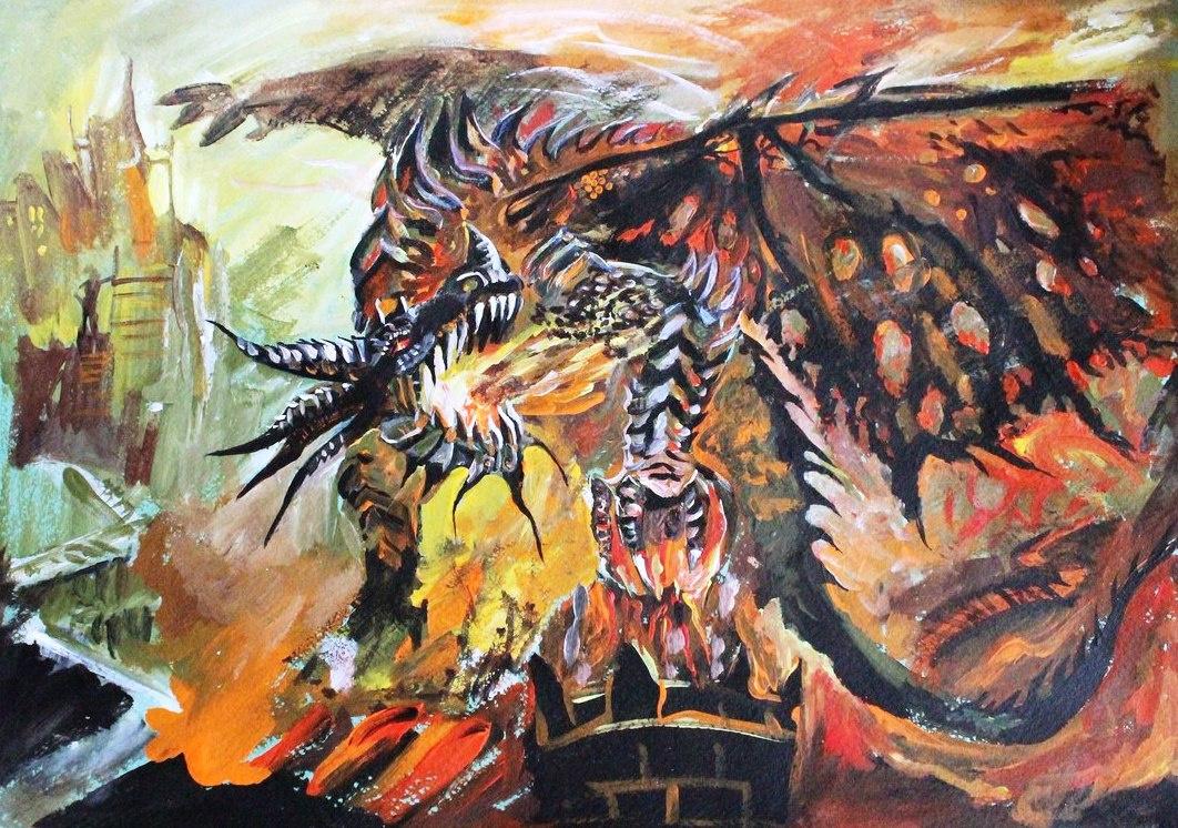 Асия Рахимова. Дракон