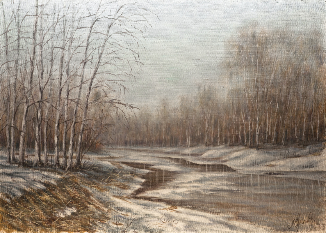 Valery Levchenko. No. 212 Spring is coming