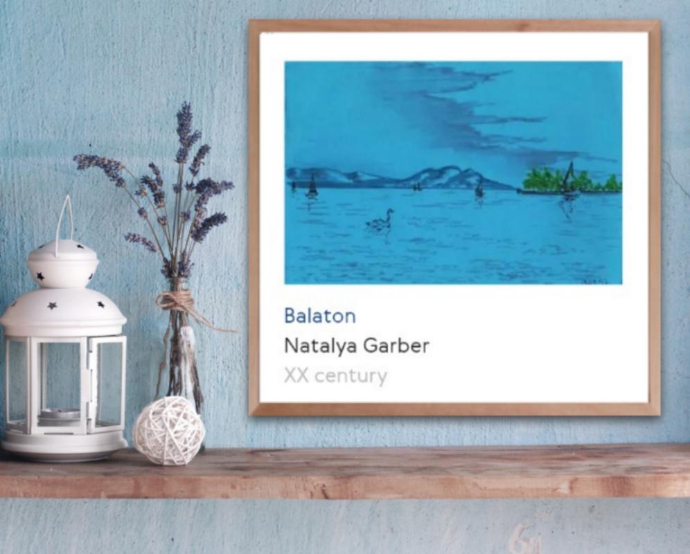 Natalya Garber. Balaton. Work for the hallway or office entrance