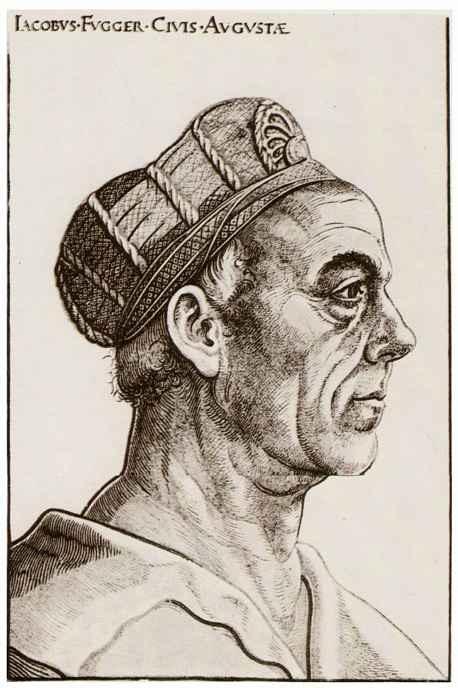 Ханс Бургкмайр Старший. Портрет Якоба Фуггера-богача